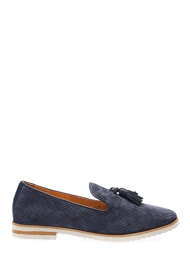 İnci Loafer Ayakkabı Lacivert